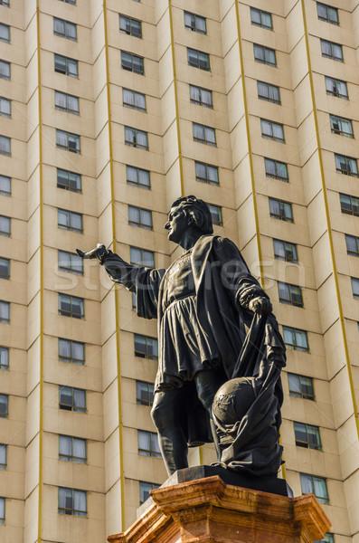 Christopher Columbus Statue Stock photo © jkraft5