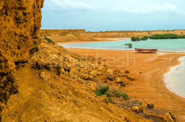 Bay and Barren Landscape Stock photo © jkraft5