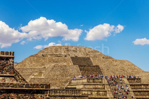 Temple of the Moon Stock photo © jkraft5