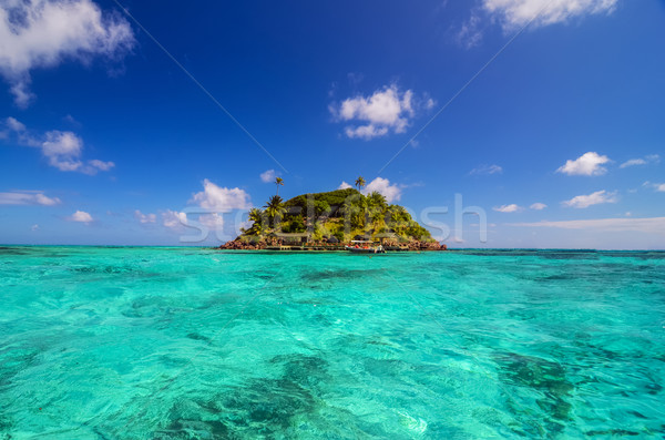 Small Secluded Island Stock photo © jkraft5