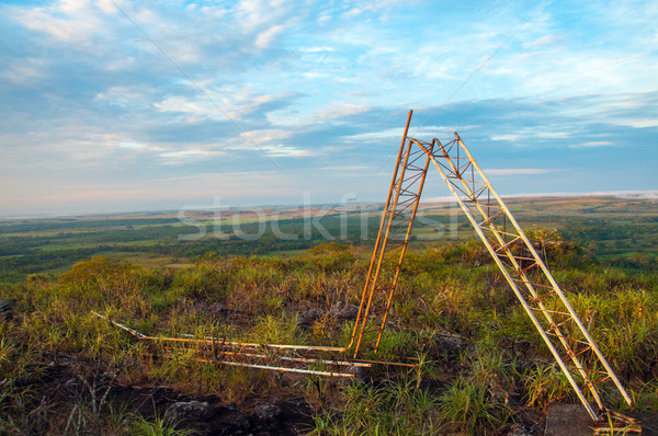 Fallen FARC Radio Tower Stock photo © jkraft5