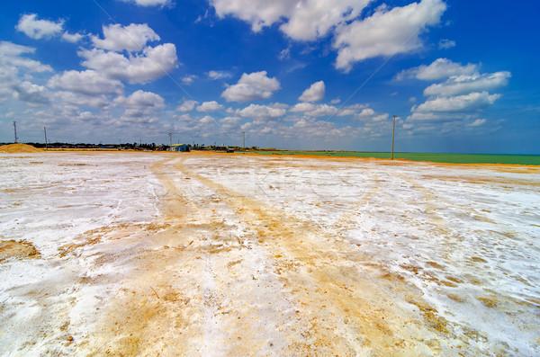 Coastal Salt Flats Stock photo © jkraft5