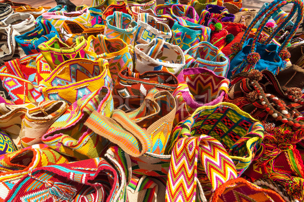 Traditional Bags in Colombia Stock photo © jkraft5