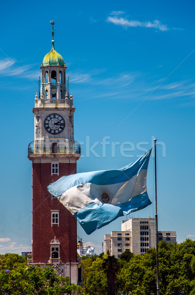 Torre Monumental in Buenos Aires Stock photo © jkraft5