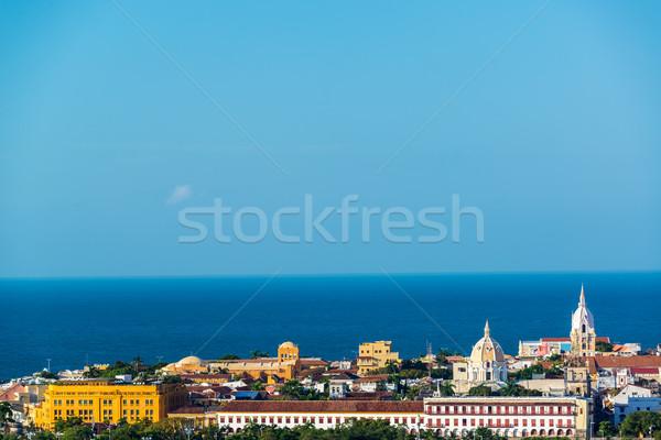 Historic Center of Cartagena Stock photo © jkraft5