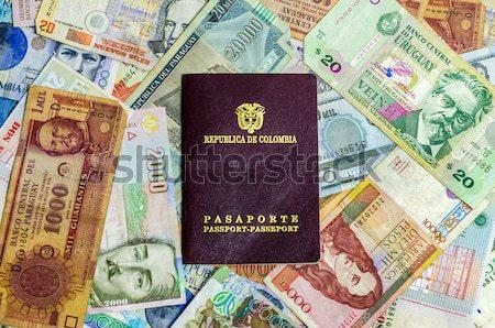 üç para latin amerika iş Stok fotoğraf © jkraft5