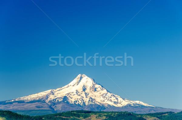 Mt. Hood and Blue Sky Stock photo © jkraft5