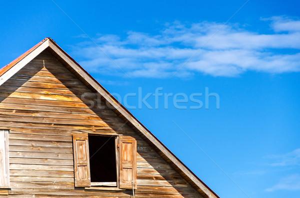 старые здании погода Тропический остров Сток-фото © jkraft5