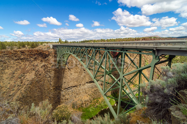 Historic Highway Bridge Stock photo © jkraft5