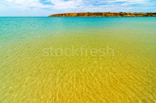 Crystal Clear Sea Water Stock photo © jkraft5