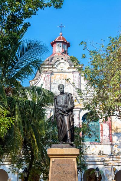 Simon Bolivar Statue Stock photo © jkraft5