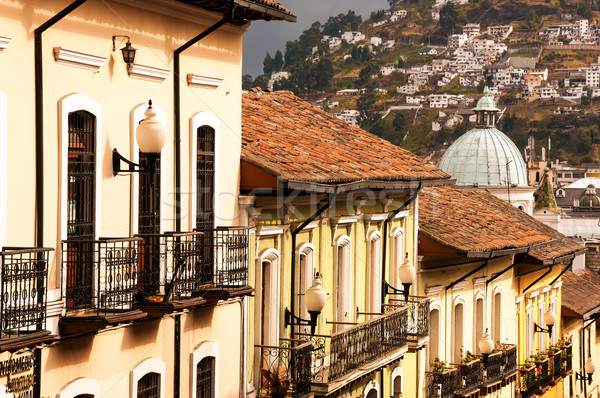 Stock photo: Colonial Balconies