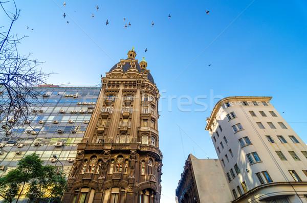 古い アパート 歴史的 ブエノスアイレス アルゼンチン ストックフォト © jkraft5
