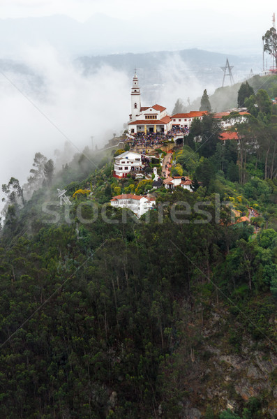 Aeriel View of Monserrate Church Stock photo © jkraft5