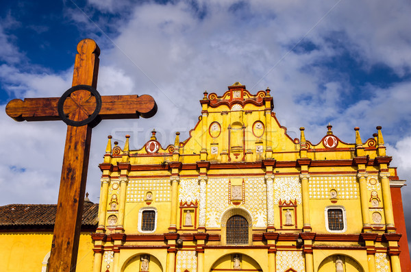 Colorful Cathedral Stock photo © jkraft5