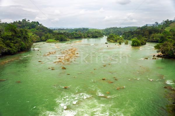 Large Green River Stock photo © jkraft5