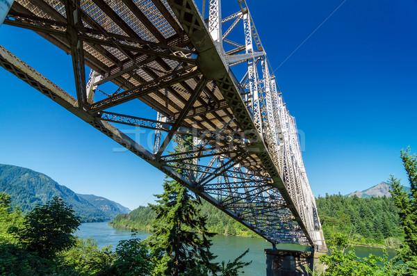 Bridge Over Columbia River Stock photo © jkraft5