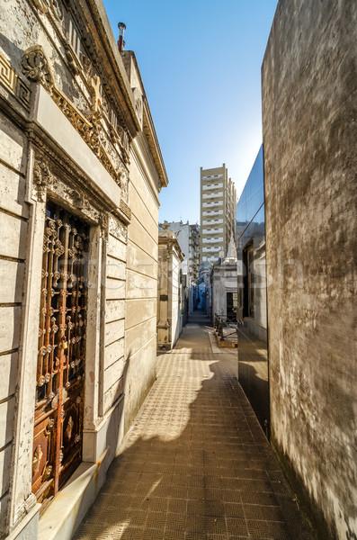 кладбище мнение исторический известный Буэнос-Айрес Аргентина Сток-фото © jkraft5