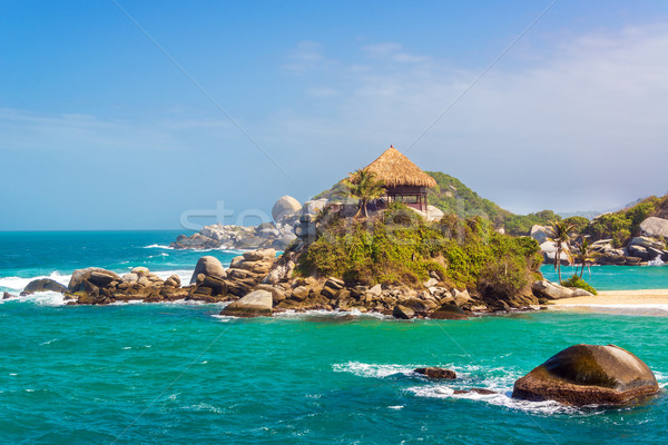 Beautiful Tayrona Beach Stock photo © jkraft5