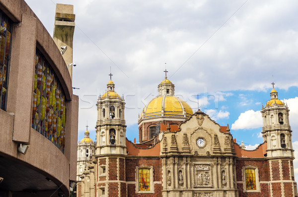 Basilica of Our Lady of Guadalupe Stock photo © jkraft5