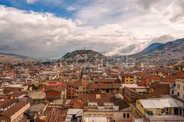 Quito Cityscape Stock photo © jkraft5
