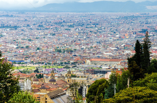 View of Bogota, Colombias Historic District Stock photo © jkraft5