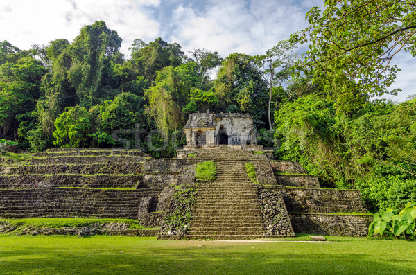 Ancient Temple and Jungle Stock photo © jkraft5
