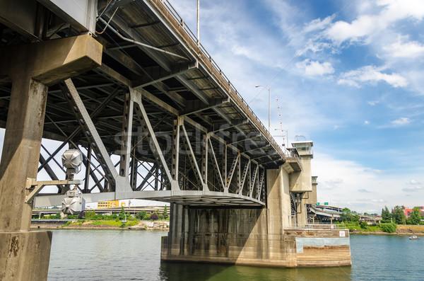 Morrison Bridge Stock photo © jkraft5