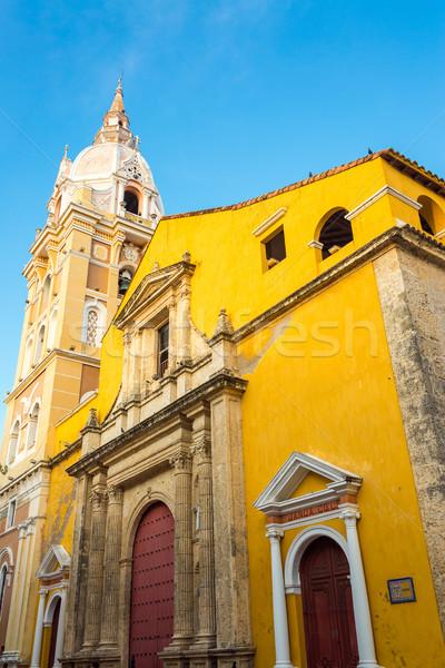 Cartagena Cathedral Stock photo © jkraft5