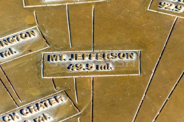 Sign to Mt. Jefferson Stock photo © jkraft5