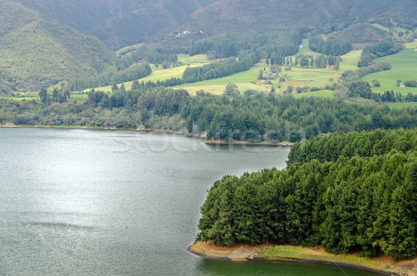 Lake and Island View Stock photo © jkraft5