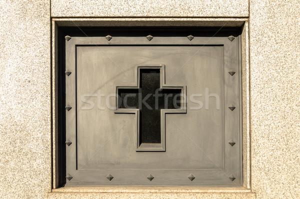 крест могилы кладбище Буэнос-Айрес Аргентина искусства Сток-фото © jkraft5