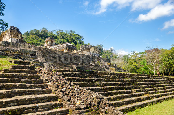 Steps Leading to Ruined Palace Stock photo © jkraft5
