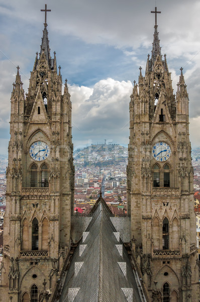 Basilica Towers Stock photo © jkraft5