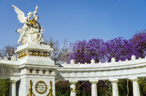 Benito Juarez Monument Stock photo © jkraft5