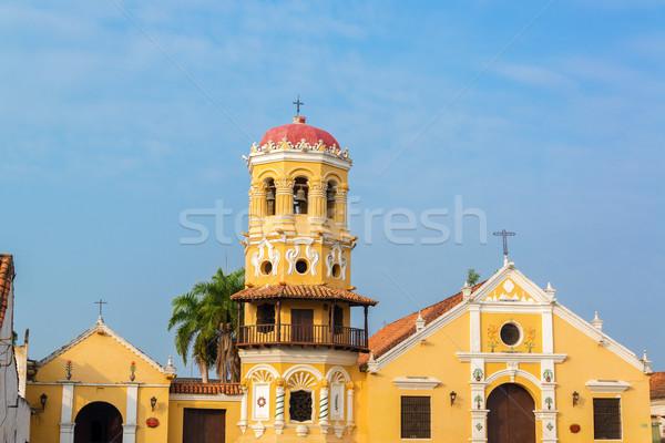 Santa Barbara Church Stock photo © jkraft5