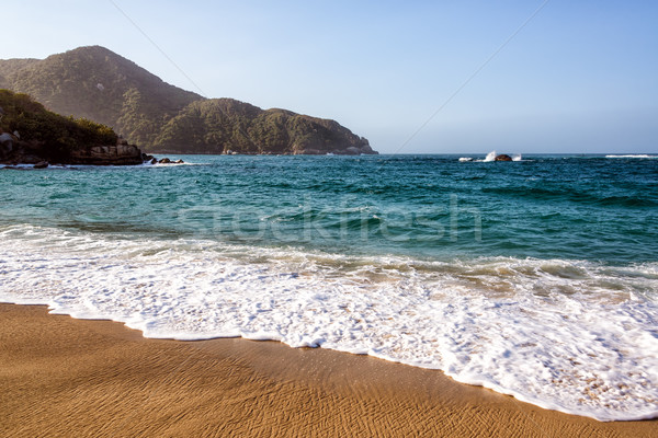 Colombian Coast Stock photo © jkraft5