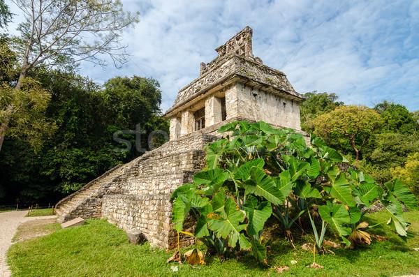 Temple and Foliage Stock photo © jkraft5