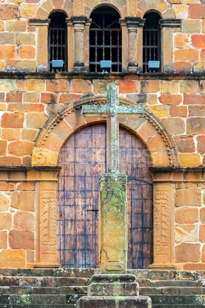 クロス サンタクロース 教会 旅行 宗教 文化 ストックフォト © jkraft5