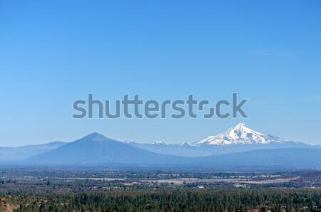 Mount Jefferson Wide View Stock photo © jkraft5