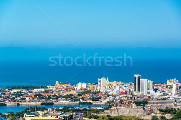 Historic Cartagena, Colombia Stock photo © jkraft5