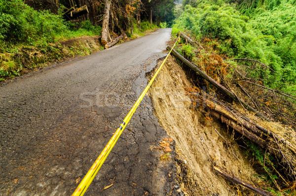 Collapsed Road Stock photo © jkraft5