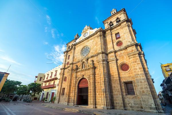 San Pedro Claver Church Stock photo © jkraft5