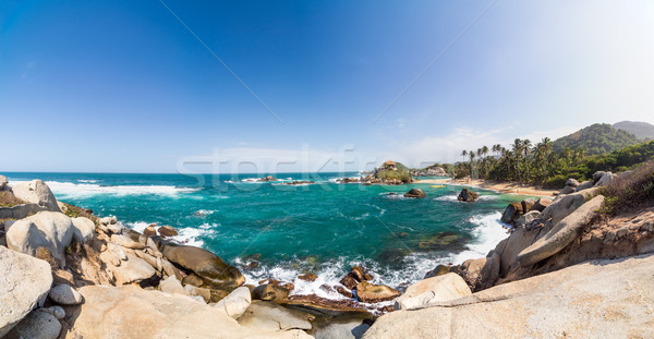 Tayrona Panorama Stock photo © jkraft5
