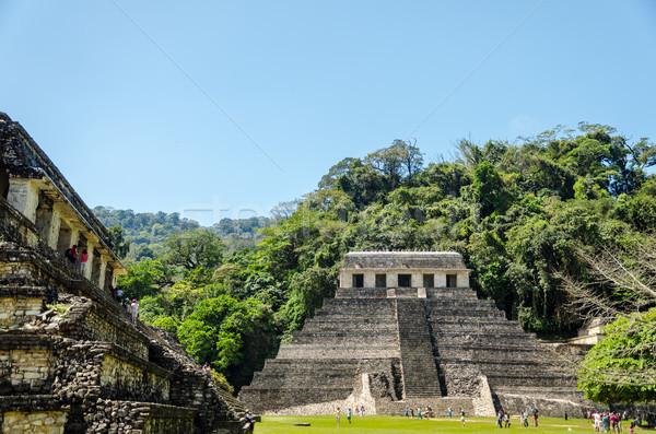 Temple of Inscriptions Stock photo © jkraft5
