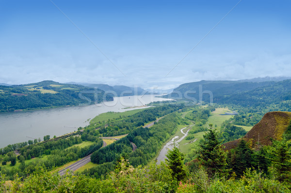 Columbia River Gorge Stock photo © jkraft5