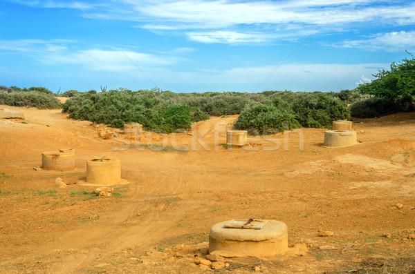 Deserto la Colômbia usado água indígena Foto stock © jkraft5