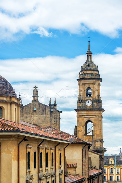Primary Cathedral in Bogota, Colombia Stock photo © jkraft5