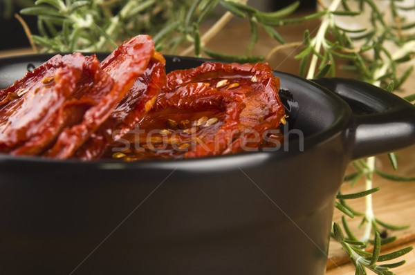 Foto stock: Sol · secas · tomates · azeite · comida · jantar
