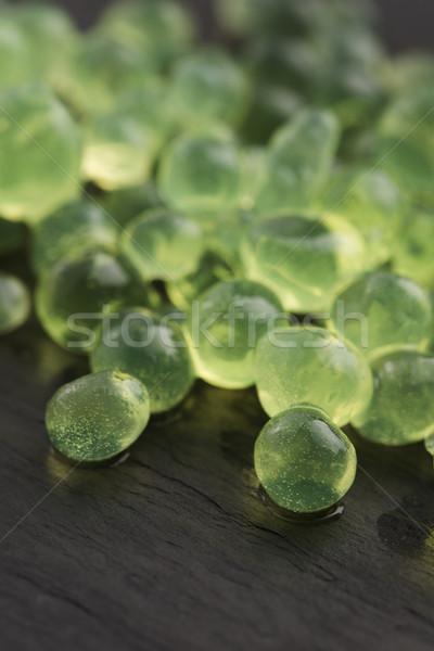 Stock fotó: Menta · kaviár · molekuláris · gasztronómia · zöld · tudomány